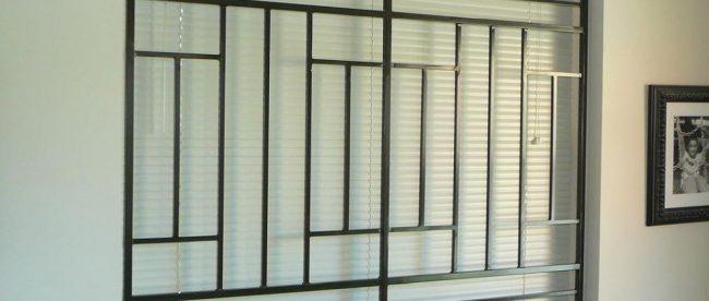grille defense fenêtre